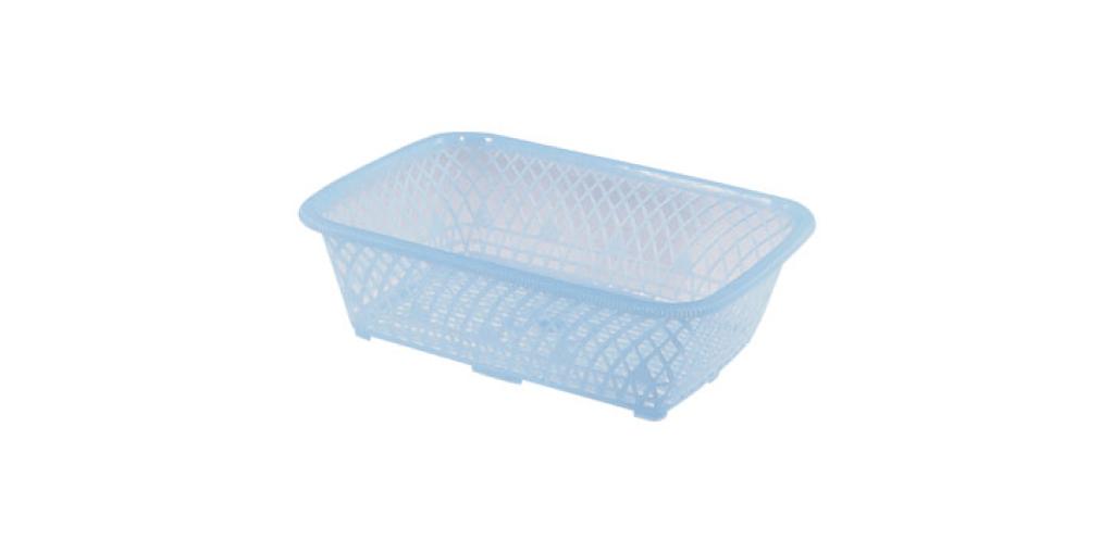花瓣萬用籃 Laundry Basket Item No. 01009 Size. W557xD405xH170 mm Color. 紅、藍 *可放置小物、零件等雜物,讓居家環境更為整齊乾淨