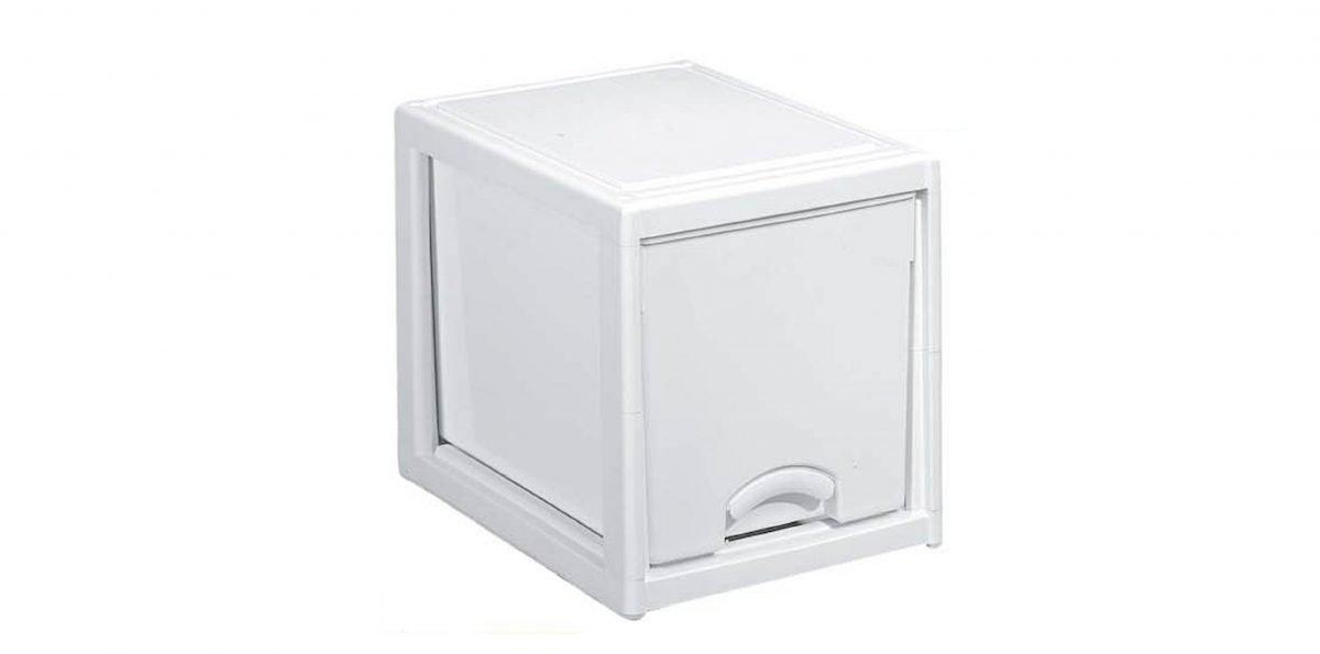 優品多層櫃-單層 Storage Cabinet-1 Drawer Item NO. LV310 (50L) Size. W380xD500xH405mm Color. 柚木、白 *加厚設計 可當置物檯面使用