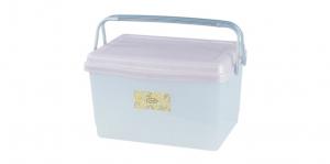 大綿羊手提整理箱 Container Item NO. JP2010 Size. W520xD365xH328mm Color. 紅、藍 *貼心設計 把手設計隨身攜帶好便利 *外出、郊遊、野餐的好夥伴,居家、生活用品的理想收納箱