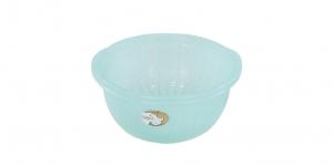 櫻桃調理缽26型 Bowl No.26 Item No. 含濾網-07012 Size. W268xD260xH127 mm(濾網) Color. 紅、藍、綠 *可搭配濾網一起使用 *分離式設計,清洗方便