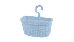 掛勾吊籃 Basket with Hanger Item No. 01018 Size. W200xD130xH218 mm Color. 紅、藍 *掛勾設計 使居家環境節省更多空間 *可放置小物、零件等雜物,讓居家環境更為整齊乾淨