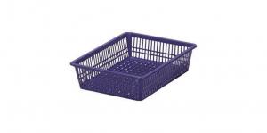 方型A4公文籃 Organizer Basket #3 Item NO. 01025 Size. W430XD310XH98mm Color. 橘、藍、綠 *100%台灣製造 *可收納文具小物