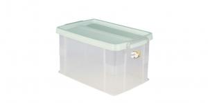 全家福收納整理箱(XL) Container (XL) Item NO. 03006(28L) Size. W483xD315xH263mm Color. 紅、藍、綠 *堅固設計 加強結構,堅固又耐重 *貼心把手設計 順暢好扣不易鬆脫
