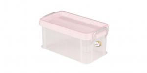全家福收納整理箱(S) Container(S) Item NO. 03009(2.3L) Size. W260xD137xH115mm Color. 紅、藍、綠 *堅固設計 加強結構,堅固又耐重 *貼心把手設計 順暢好扣不易鬆脫