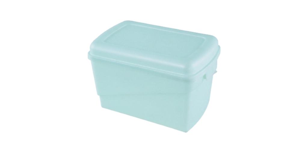 鞋盒-二雙入 Shoes Box Item No. 04003 Size. W335xD213xH220 mm Color. 紅、藍、綠 *隔板設計 內附隔板,可上下各放兩雙鞋
