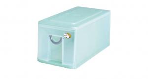 多媒體光碟收納盒-一層 CD Drawer Cabinet -1 Drawer Item NO. 05001 Size. W187xD383xH178mm Color. 紅、藍、綠 *拉環設計 把手拉環設計,易拉好開 *可作為文具小物收納之用