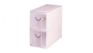 多媒體光碟收納盒-二層 CD Drawer Cabinet – 2 Drawers Item NO. 05002 Size. W187xD383XH339mm Color. 紅、藍、綠 *拉環設計 把手拉環設計,易拉好開 *可作為文具小物收納之用
