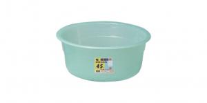 吉利洗盆深型-56型 Basin- Deep Item No. 07022(45L) Size. Ø560xH300 mm Color. 紅、藍、綠 *100%台灣製造,品質保證 *大容量,亦可做兒童澡盆