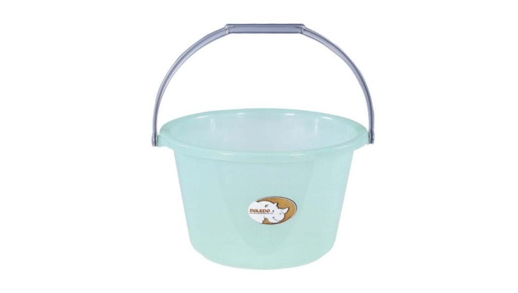 吉第水桶-寬口 Round Bucket - Wide Item No. 08006(7L) Size. W305xD285xH195 mm(7L) Color. 紅、藍、綠 *貼心設計 把手設計手提好便利