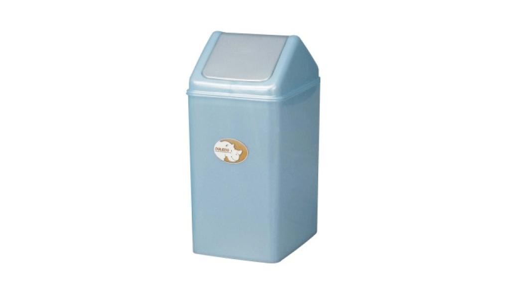 生活紙林(15L) Trash Can(15L) Item No. 08011(15L) Size. W290xD200xH415 mm Color. 紅、藍、綠 *加蓋設計 蓋子可固定塑膠袋,不易脫落