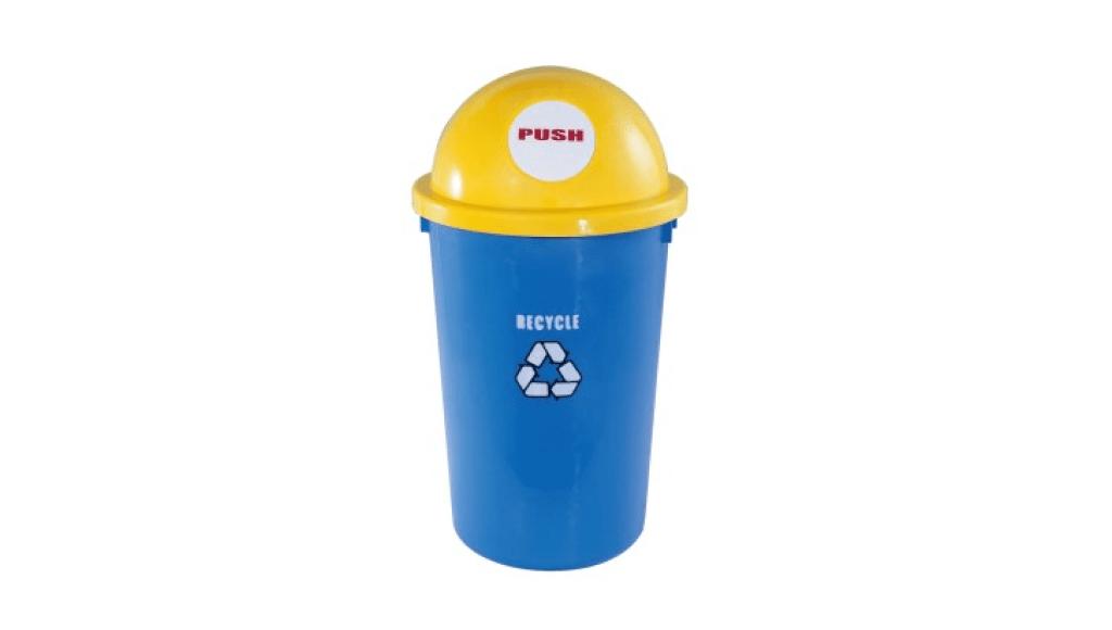 太空寶寶回收桶 Recycle Trash Can Item No. 08016(55L) Size. Ø400xH730 mm Color. 紅、黃、綠 *造型圓弧,55L大容量 *100%台灣製造,品質保證