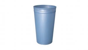 長頸鹿置物桶(M) Trash Can(M) Item No. 08018(15L) Size. Ø235xH380 mm Color. 紅、藍、綠 *貼心設計 邊條扣碼設計,使用上更加方便 *多種尺寸,滿足各種空間 *100%台灣製造,品質保證