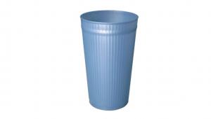 百合置物桶(L) Trash Can(L) Item No. 08020(25L) Size. Ø275xH455 mm Color. 紅、藍、綠 *多種尺寸,滿足各種空間 *100%台灣製造,品質保證