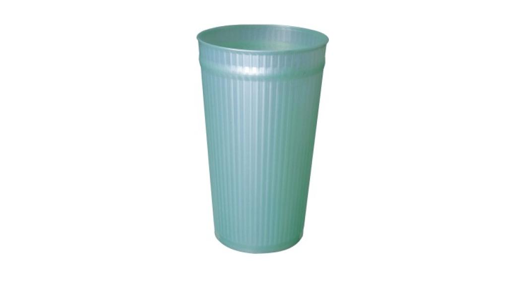 百合置物桶(M) Trash Can(M) Item No. 08021(15L) Size. Ø235xH380 mm Color. 紅、藍、綠 *多種尺寸,滿足各種空間 *100%台灣製造,品質保證