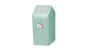 生活紙林(20L) Trash Can(20L) Item No. 08023(20L) Size. W227xD325xH455 mm Color. 紅、藍、綠 *加蓋設計 蓋子可固定塑膠袋,不易脫落