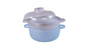 圓滿蔬果籃 Green Bowl Item No. 121 Size. W280xD220xH160 mm Color. 紅、藍 *加蓋設計 不論是洗蔬果或保鮮都安全衛生