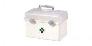 小天使提箱 Accessories Box Item No. 134 Size. W282xD173xH182 mm Color. 白 *貼心設計 把手設計隨身攜帶好便利 *隔板設計 空間使用更具靈活輕巧,可隨個人喜好放置不同的小物