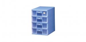 卡合四層公文櫃 A4 Drawer Cabinet- 4 Drawers Item NO. 204 Size. W250xD342xH372mm Color. 紅、藍、綠 *卡榫設計 抽屜不滑落,便於收藏資料 *可收納A4公文、文具等小物