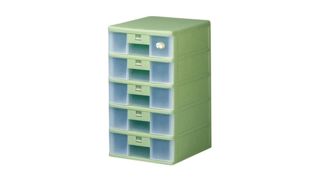 卡合五層公文櫃 A4 Drawer Cabinet- 5 Drawers Item NO. 205 Size. W250xD342xH465mm Color. 紅、藍、綠 *卡榫設計 抽屜不滑落,便於收藏資料 *可收納A4公文、文具等小物