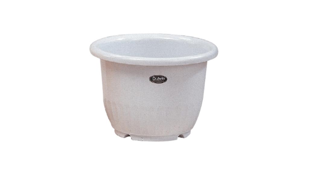 小太陽花盆丸型7號 Flower Pot NO.7 Item No. 9007 Size. Ø210xH145 mm Color. 紅、白、黃、綠 *鏡面彩盆,造型流利 *色澤新穎,多彩選擇