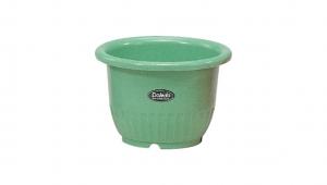 小太陽花盆丸型8號 Flower Pot NO.8 Item No. 9008 Size. Ø240xH165 mm Color. 紅、白、黃、綠 *鏡面彩盆,造型流利 *色澤新穎,多彩選擇
