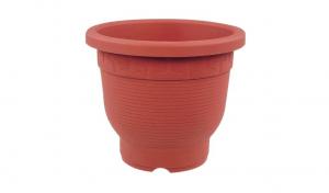 雅典盆 Flower Pot Item No. 9309 Size. Ø270xH233 mm Color. 咖 *霧面彩盆,造型優雅 *色澤新穎,搭配性高