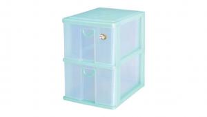 大物二層收納架 Storage Cabinet - 2 Drawers Item NO. 9832 Size. W255xD350xH360mm Color. 紅、藍、綠 *拉環設計 把手拉環設計,易拉好開 *可搭配作堆疊 *可收納檔案書籍