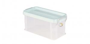 全家福收納整理箱(M) Container(M) Item NO. 9908(6L) Size. W340xD168xH160mm Color. 紅、藍、綠 *堅固設計 加強結構,堅固又耐重 *貼心把手設計 順暢好扣不易鬆脫