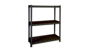 大白鯊三層置物重力架 Display Shelf Item No. 9909-3L Size. W865xD365xH1045 mm Color. 黑 *台灣製造、品質保證 *開放式設計,組裝拆卸都方便