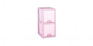 優品多層櫃-二層 Storage Cabinet-2Drawers Item NO. BNW320A (100L) Size. W380xD500xH785mm Color. 紅、藍 *加厚設計 可當置物檯面使用