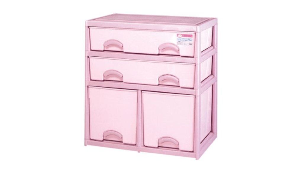 優品多層櫃-二橫二深抽 Storage Cabinet- 4Drawers Item NO. BNW735A (200L) Size. W735xD500xH785mm Color. 紅、藍 *加厚設計 可當置物檯面使用