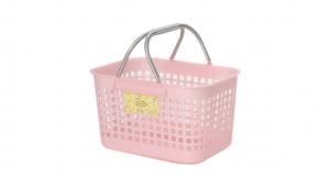 日式購物籃 Shopping Basket Item No. JP2082 Size. W445xD320xH280 mm Color. 紅、藍、綠 *貼心設計 把手設計手提好便利 *造型典雅,超大容量一次補足生活所需用品