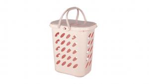 吉寶置物籃 Hamper Basket Item No. JP209 Size. W480xD350xH505 mm Color. 紅、藍 *貼心設計 把手設計手提好便利