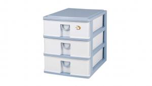 小生活組合櫃-淺3層 Storage Cabinet -3 Shallow Item NO. NL303 Size. W305xD405xH362mm Color. 紅、藍 *拉環設計,把手拉環設計,易拉好開 *可作為文具小物收納之用