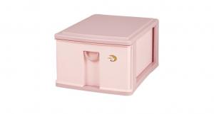 小生活組合櫃-深1層 Storage Cabinet -1 Deep Item NO. NL310 Size. W305xD405xH208mm Color. 紅、藍 *拉環設計,把手拉環設計,易拉好開 *可作為文具小物收納之用