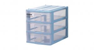 蘋果置物盒-淺三層 Storage Cabinet -3 Shallow Item NO. PA03 Size. W250xD355xH305mm Color. 紅、藍、白 *透明抽屜,資料清晰可見 *可收納A4檔案、文具小物
