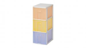 蘋果M置物盒-三層 Storage Cabinet-3 Drawers Item NO. PAM30 Size. W185xD265xH483mm *100%台灣製造 *可收納文具小物