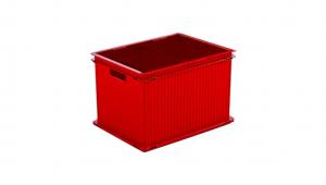 疊疊樂收納箱(XL) Storage Crate (XL) Item No. PC-XL Size. W470xD346xH300 mm Color. 紅、藍、綠、咖、白 *相同尺寸互相卡合組裝 *免工具,輕鬆組裝