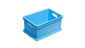 疊疊樂收納箱(M) Storage Crate (M) Item No. PC-34 Size. W340xD235xH160 mm Color. 紅、藍、綠、咖、白 *相同尺寸互相卡合組裝 *免工具,輕鬆組裝