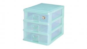 新的三層公文盒 Storage Cabinet -3 Drawers Item NO. AD03 Size. W255xD350xH282mm Color. 紅、藍、綠 *拉環設計 把手拉環設計,易拉好開 *可收納A4檔案、公文、文具小物