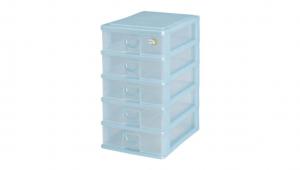 新的五層公文盒 Storage Cabinet -5 Drawers Item NO. AD05 Size. W255xD350xH458mm Color. 紅、藍、綠 *拉環設計 把手拉環設計,易拉好開 *可收納A4檔案、公文、文具小物