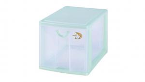 小物一層收納架 Storage Cabinet -1 Drawer Item NO. AD521 Size. W185xD265xH167mm Color. 紅、藍、綠 *拉環設計 把手拉環設計,易拉好開 *可作為文具小物收納之用 *透明抽屜,資料清晰可見