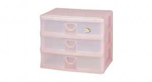 大人物置物盒-淺三層 Drawer Cabinet -Wide -3 Shallow Item NO. AW03 Size. W342xD255XH278mm Color. 紅、藍、綠 *拉環設計,易拉好開 *可作為文具小物收納之用 *透明抽屜,資料清晰可見