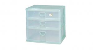 大人物置物盒-一深二淺 Drawer Cabinet -Wide -1Deep, 2 Shallow Item NO. AW12 Size. W343xD255XH322mm Color. 紅、藍、綠 *拉環設計 把手拉環設計,易拉好開 *可作為文具小物收納之用 *透明抽屜,資料清晰可見