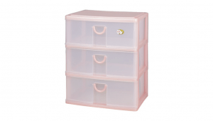 大人物置物盒-深三層 Drawer Cabinet -Wide -3 Deep Item NO. AW30 Size. W342xD255XH400mm Color. 紅、藍、綠 *拉環設計 把手拉環設計,易拉好開 *可作為文具小物收納之用 *透明抽屜,資料清晰可見