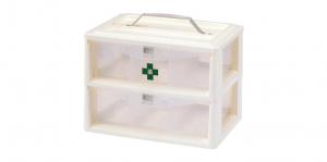 紅螞蟻手提置物盒 Carry Accessories Box- 2 Layers Item No. KD200 Size. W295xD200xH215 mm Color. 白 *貼心設計 把手設計隨身攜帶好便利 *卡榫設計 抽屜不滑落,便於收藏小物