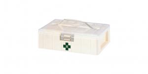 KO整理盒 Carry Accessories Box- 1 Layer Item No. KO001 Size. W295xD200xH88 mm Color. 白 *貼心設計 把手設計隨身攜帶好便利 *卡榫設計 抽屜不滑落,便於收藏小物