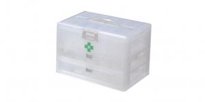 KO整理盒-雙層 Carry Accessories Box- 2 Layers Item No. KO820 Size. W295xD200xH195 mm Color. 白 *貼心設計 把手設計隨身攜帶好便利 *卡榫設計 抽屜不滑落,便於收藏小物